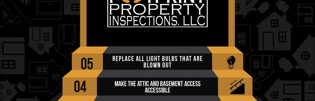 Home Inspection infographic: 5 Steps to prepare for a home inspection