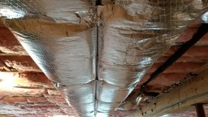 duct work in a home