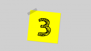 picture of a number 3